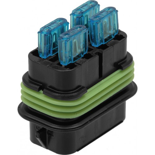[SCHEMATICS_44OR]  29214 - Weatherproof Mini Blade Fuse Holder - (1pc) | Deutsch Fuse Box |  | Van Line Distributors Pty Ltd